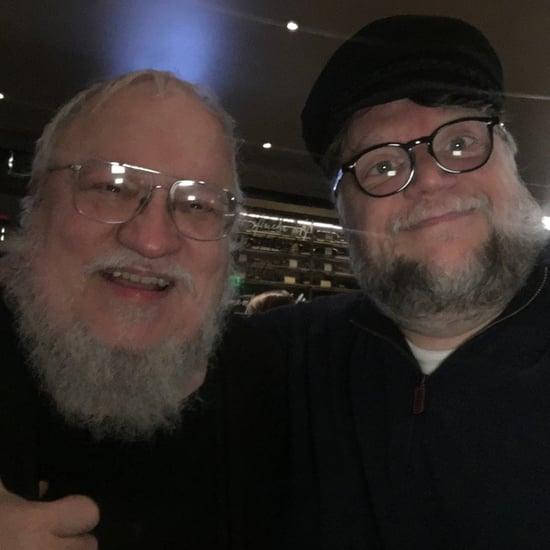Guillermo del Toro Tweet With George RR Martin October 2018