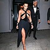 Kim Kardashian in LA in 2019