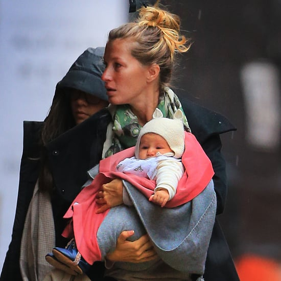 Gisele With Vivian in NYC