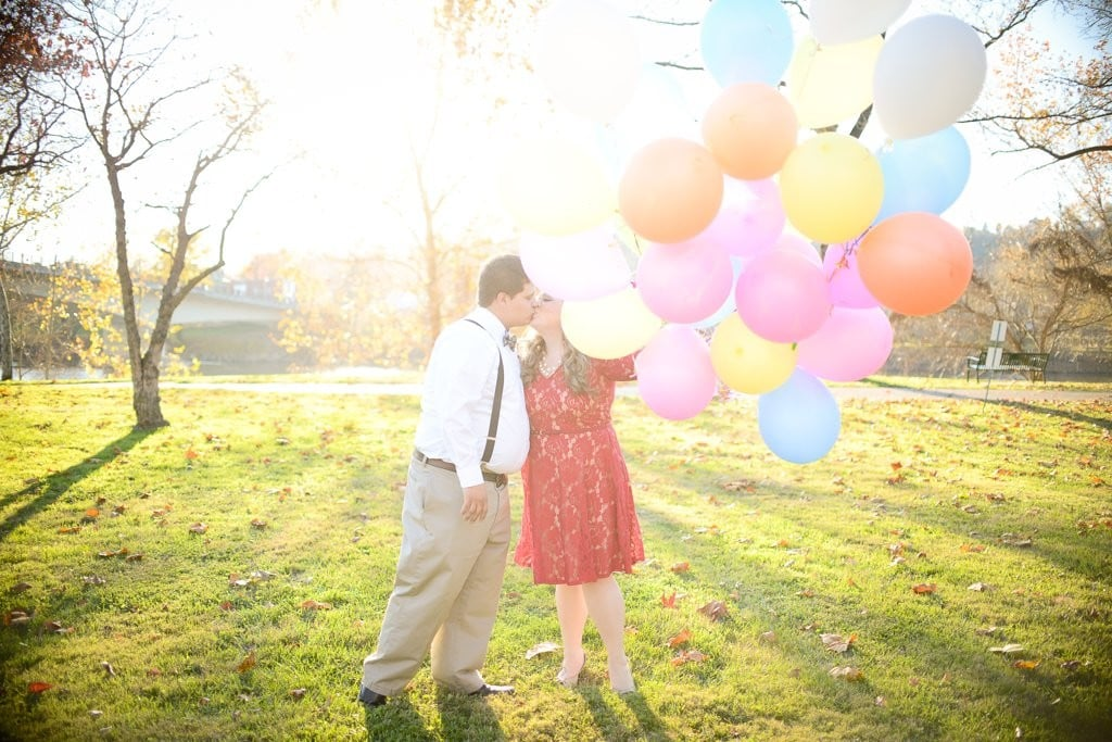Up!-Themed Engagement Shoot