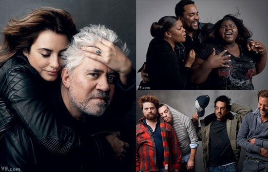 Photos of Penelope Cruz, Bradley Cooper, Monique and Gabourey Sidibe in the March Issue of Vanity Fair