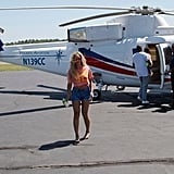 Beyoncé Knowles shared a snap before a helicopter ride. Source: Tumblr user Beyoncé
