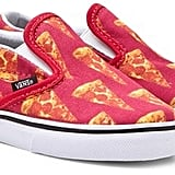 Vans Classic Slip On Pizza Print Shoes