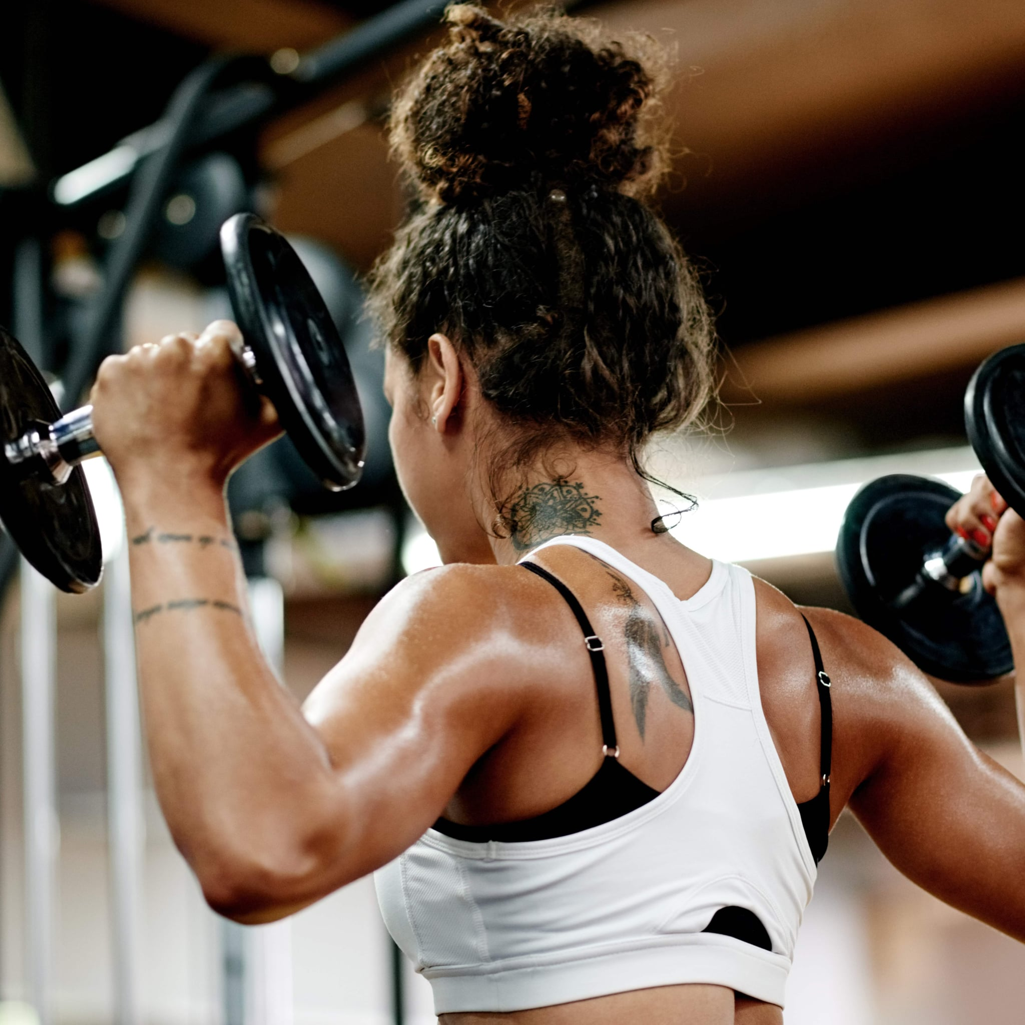 Lawnmower Best Dumbbell Moves Popsugar Fitness Australia Photo 17 Weight Training For Women Circuit Workout
