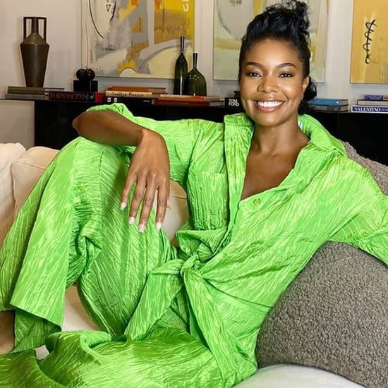 Shop Gabrielle Union's Lime-Green Izayla Jumpsuit