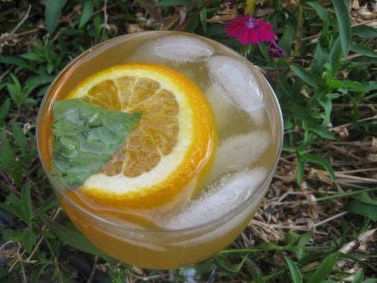 Nothing says Summer like a delicious glass of sangria. This basil sangria is a refreshing spin on the Spanish classic.