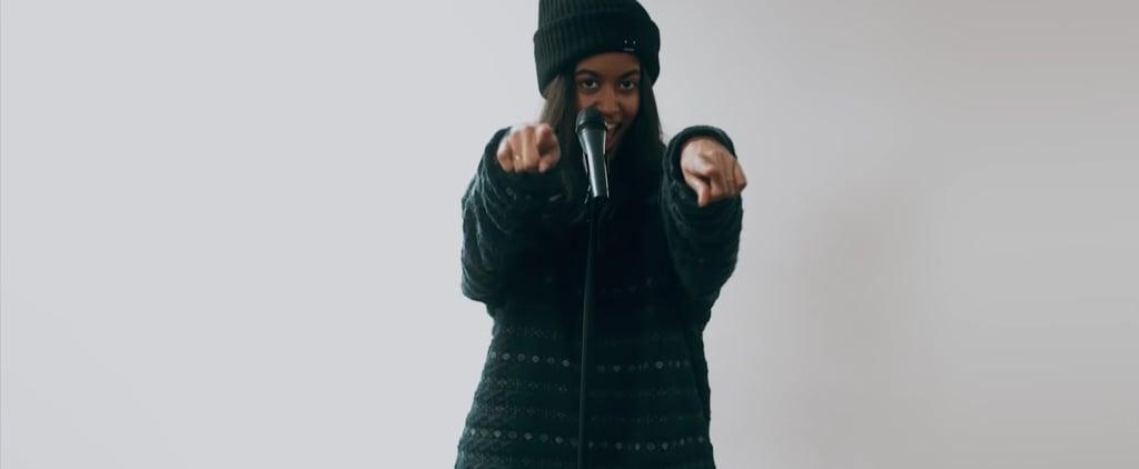 "Malia Obama in New Dakotas's ""Walking on Air"" Music Video"