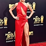 Halsey at the 2018 MTV Movie and TV Awards