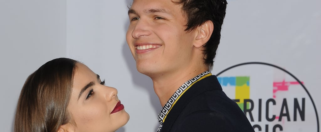 Ansel Elgort and Violetta Komyshan Cute Pictures