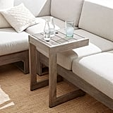 Portside Outdoor C-Shaped Side Table
