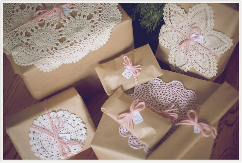 Doily Gift Wrap 51 Creative DIY Gift Wrap Ideas For Any Occasion