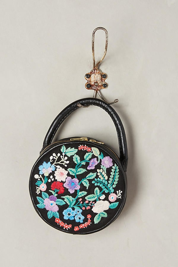 Indego Africa Embroidered Circle Bag