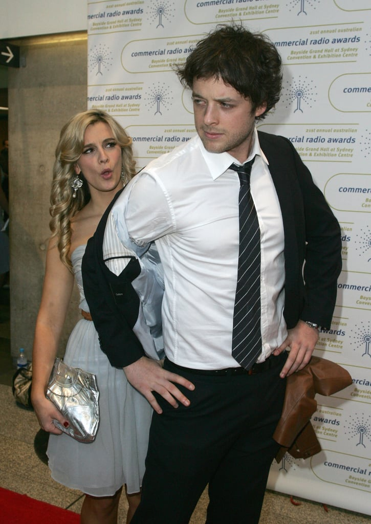 Hamish out-posed his then-girlfriend Anna Jennings-Edquist at the 2009 Australian Commercial Radio Awards in Sydney.