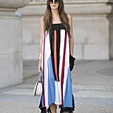 Vertical Stripes and Pleats