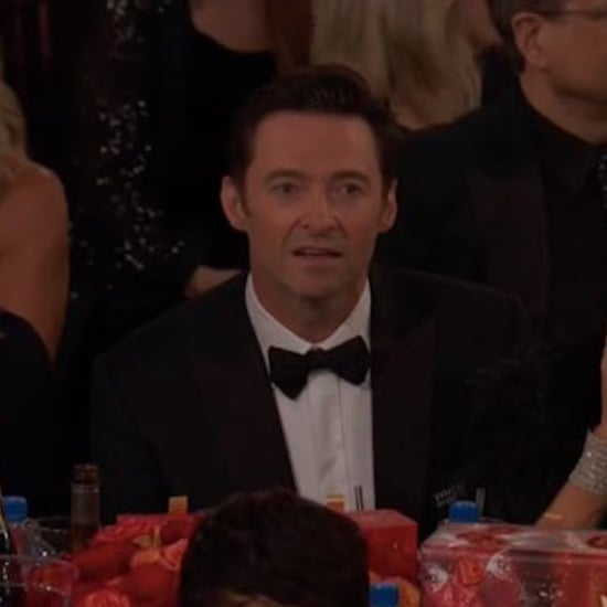 Hugh Jackman's Reaction to James Franco's Golden Globes Win