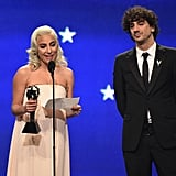 Lady Gaga Speech at the 2019 Critics' Choice Awards