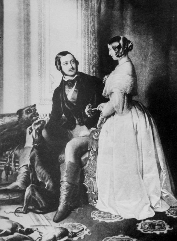 queen victoria and prince albert of saxe coburg and gotha royal proposal stories popsugar. Black Bedroom Furniture Sets. Home Design Ideas
