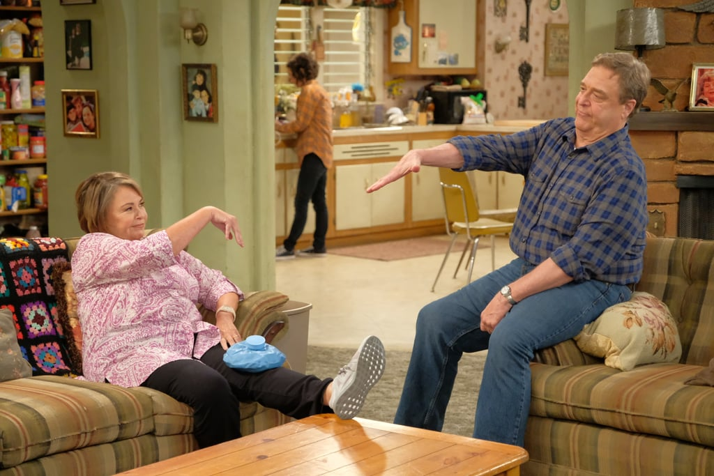 Dan and Roseanne are clearly still an excellent team.