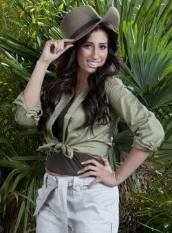 Pictures of Stacey Solomon Who Has Won I'm a Celebrity Get Me Out of Here 2010