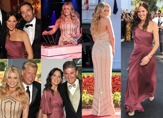 Pictures of Jennifer Garner, Ben Affleck, and Jessica Simpson at the Opening of the Greenbriar Resort's Casino