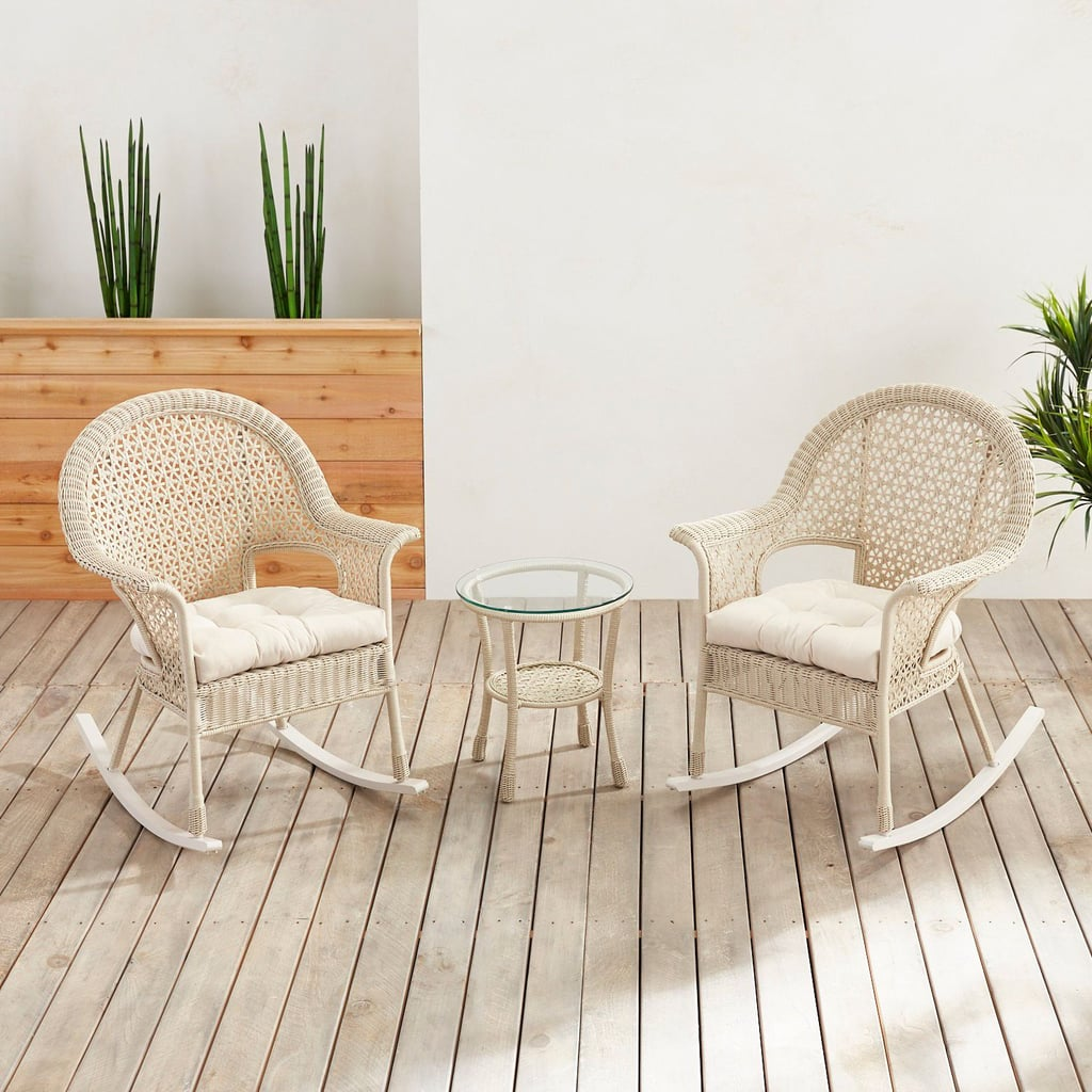 Celeste Rain White 3-Piece Patio Collection