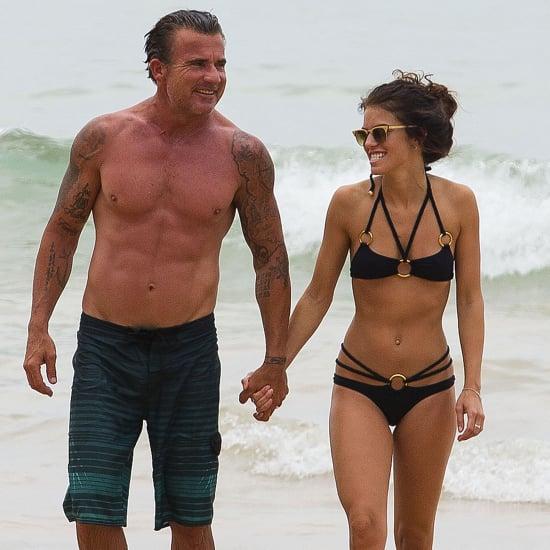 AnnaLynne McCord Wearing a Bikini in Australia Pictures