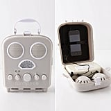 The retro Swansea Beach Radio ($40) keeps your iPhone or iPod safely tucked away in the plastic interior speaker case so it stays protected from sand, sun, and water.