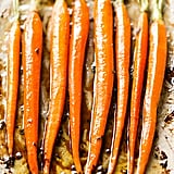 Browned Butter Maple Sage Roasted Carrots