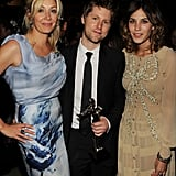 Nadja Swarovski, Christopher Bailey, Alexa Chung Getty