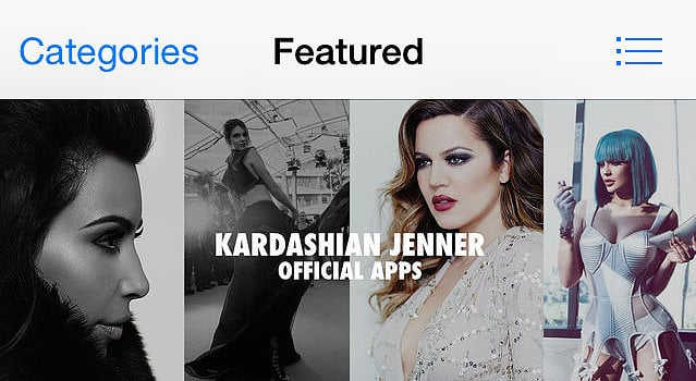Kardashian and Jenner Apps