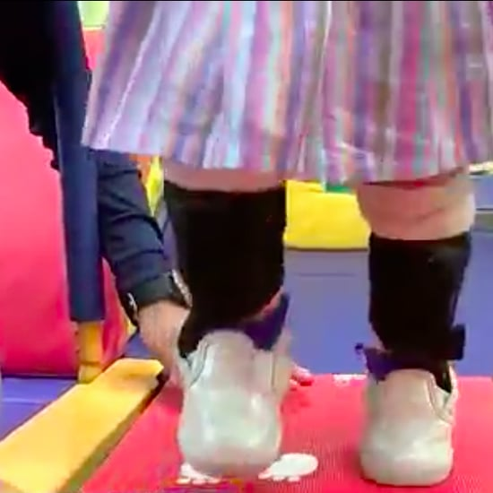 Girl With Spina Bifida Uses Baby Shark to Walk