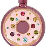 Betsey Johnson Pink-Tone Multi-Stone Donut Flask ($35)