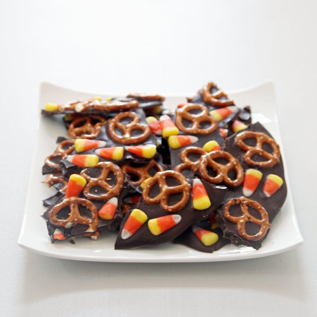 Sweet and Salty Chocolate Bark