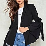 Nasty Gal Tie and Love Again Blazer
