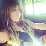 Lea snapped a sultry selfie while on her way to the 2014 Teen Choice Awards.