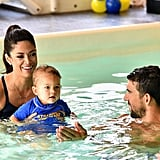 Michael Phelps in a Swim Class With His Son Is the Sweetest Thing You'll See All Day