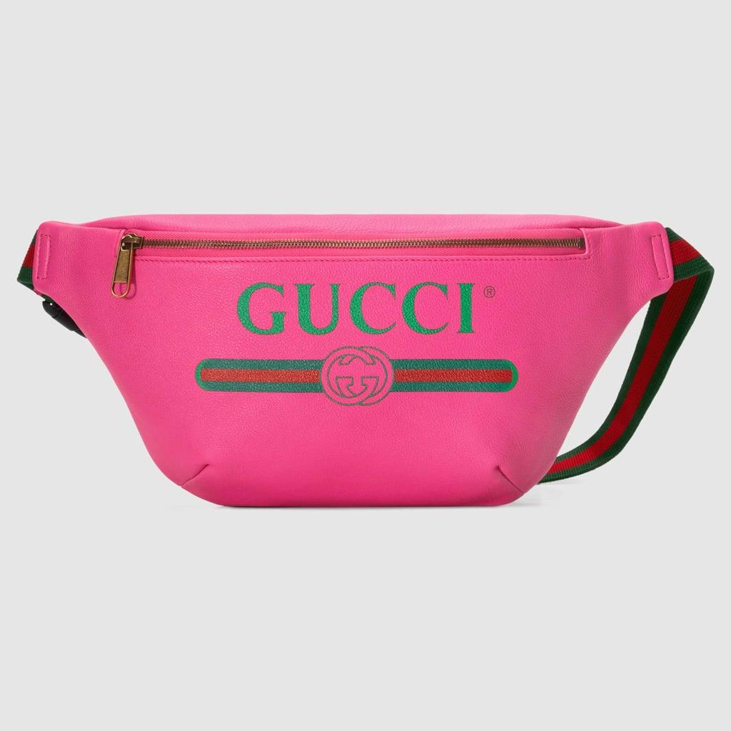 b0b134f5b47f Gucci Print Leather Belt Bag | New Gucci Products Spring 2018 ...