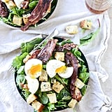 Baby Kale Breakfast Salad With Soft-Boiled Eggs and Maple Bacon Vinaigrette