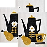 Swedish Dishcloths Retro Coffee Collection Set of 3