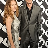 Edward Norton attended the party with Shauna Robertson.