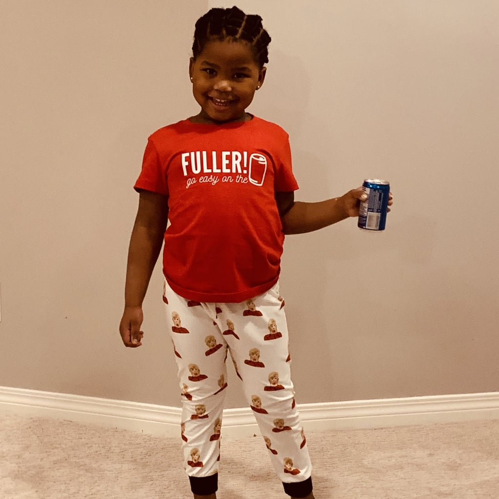 "Home Alone ""Fuller! Go Easy on the Pepsi"" Kid-Size Matching Family Pajamas"