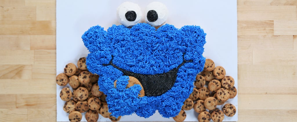 Cookie Monster Pull-Apart Cake Recipe