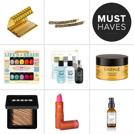 June weather ushers in the need and want for a sun-kissed glow, hair tamers, and cheerful lip tints. To crank up trendy Summer looks, POPSUGAR Beauty has rounded up all the beauty products fit for sunshine.