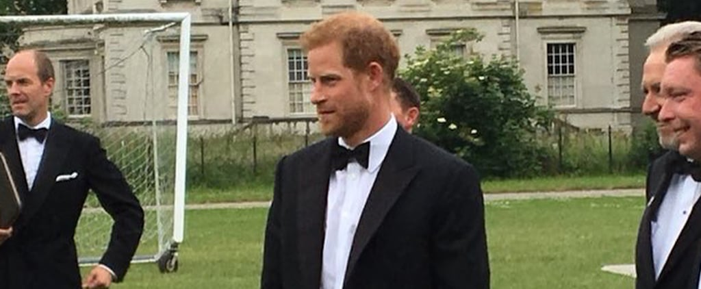 Prince Harry at a Charity Event After His Honeymoon