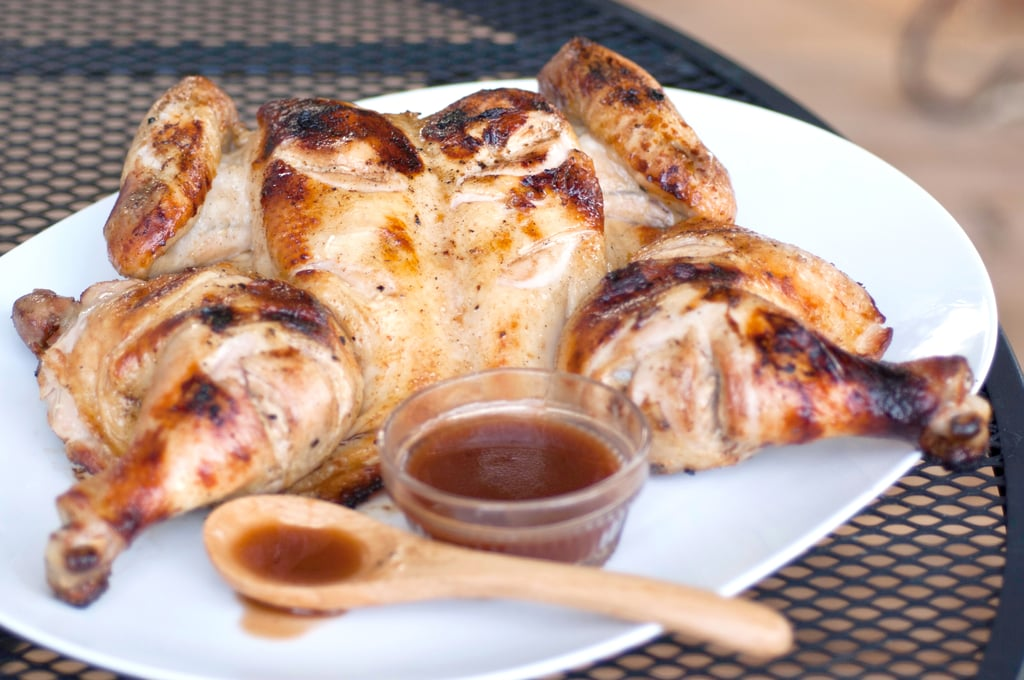 Coffee and Cream Soda Grilled Chicken