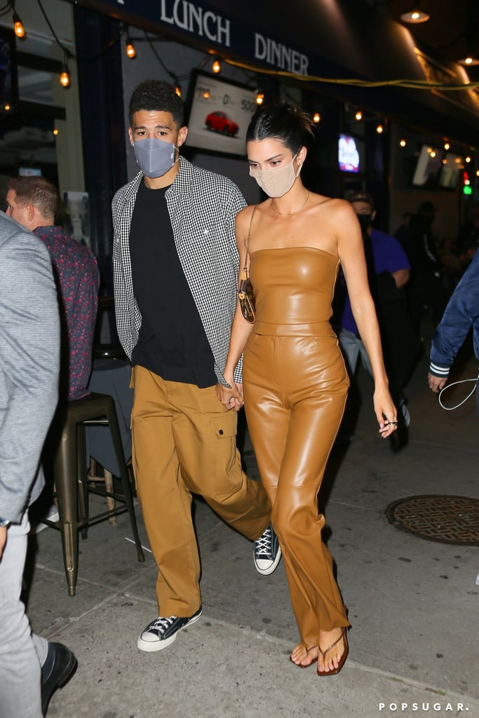 Kendall Jenner and Devin Booker Leaving Carbone in NYC