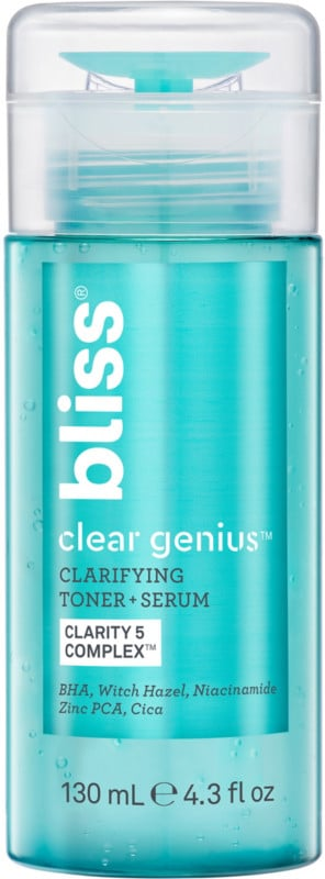 Bliss Clear Genius Clarifying Toner + Serum