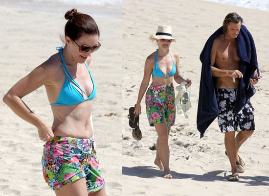 Photos of Kristin Davis in Bikini in St Barts on Holiday With Boyfriend James Russell