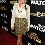 Busy Philipps stepped out for the LA premiere of End of Watch.