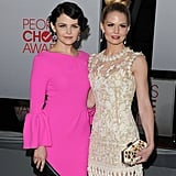 Ginnifer Goodwin and Jennifer Morrison on the red carpet.